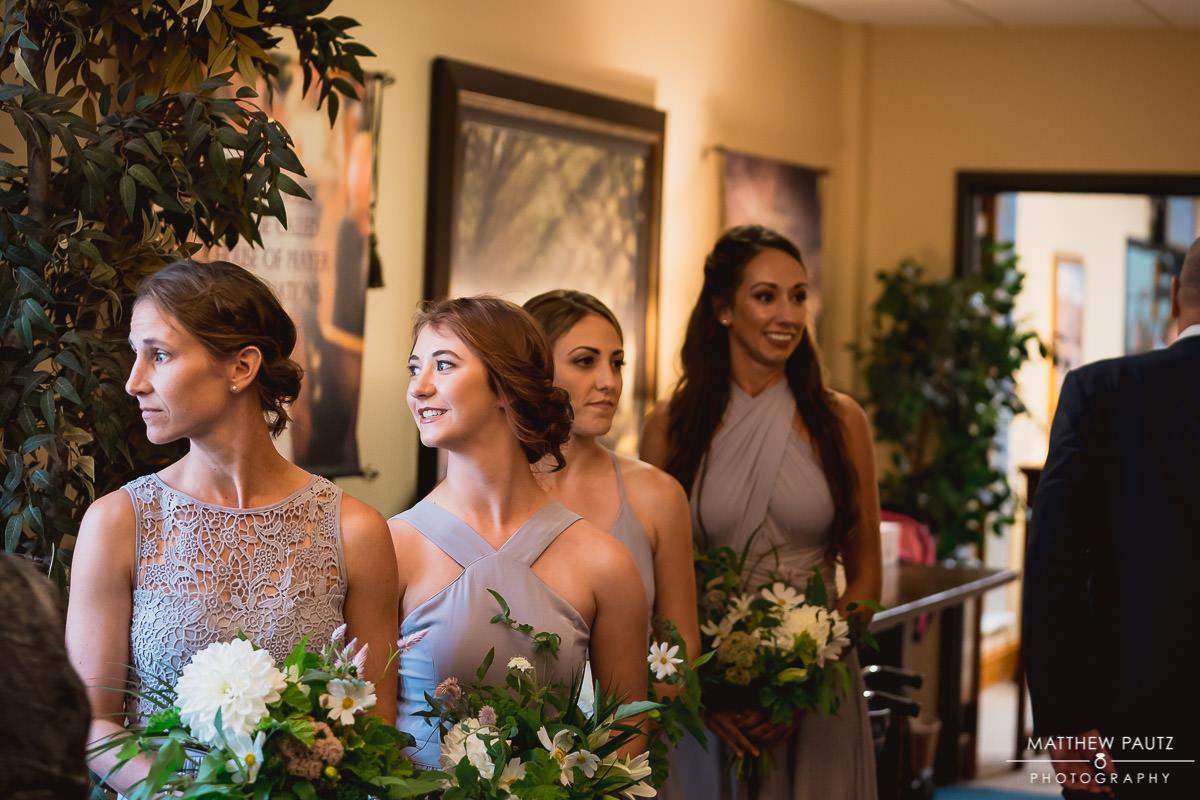 wedding ceremony at first presbyterian church, greenville sc