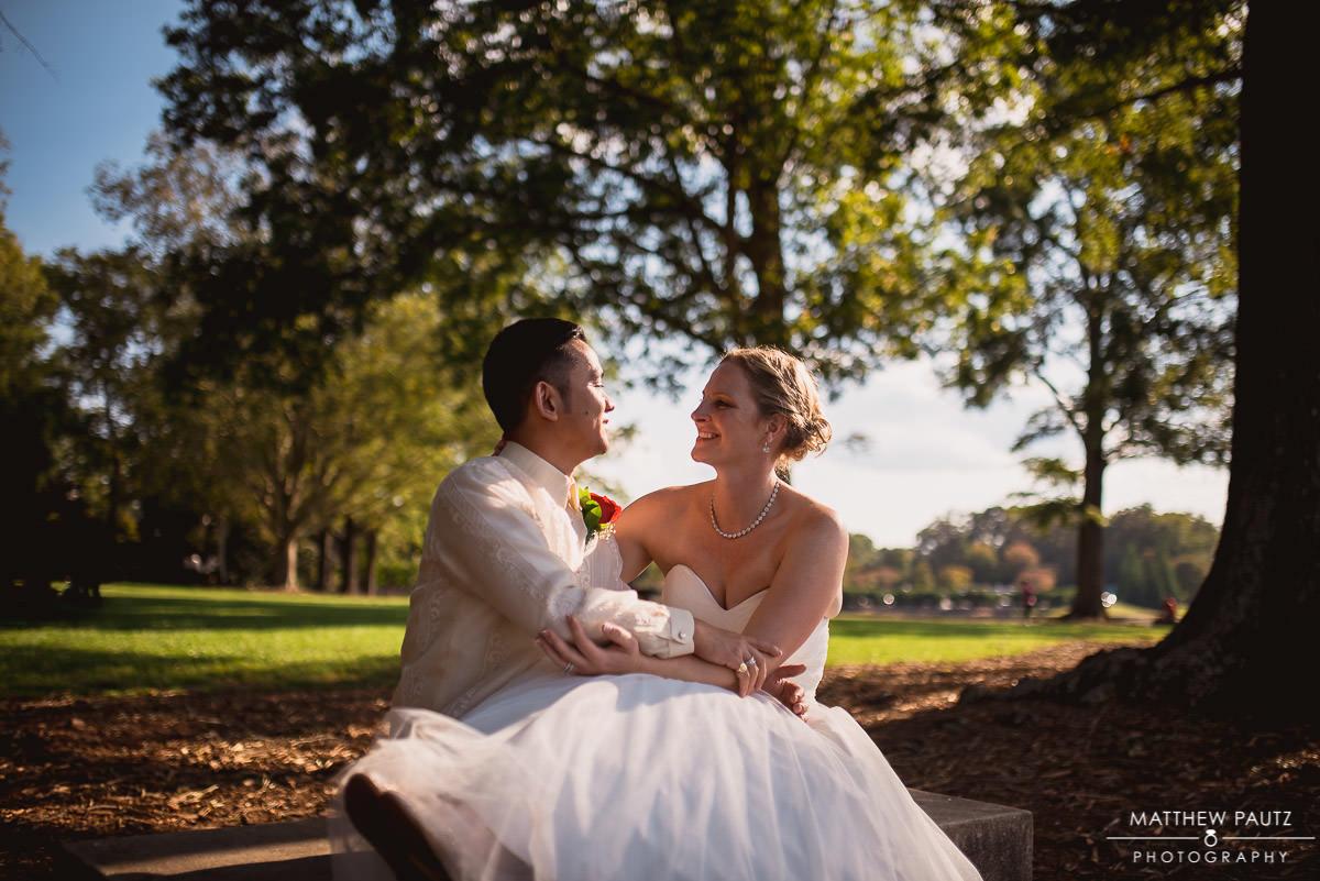 Wedding photos at Furman, Greenville SC