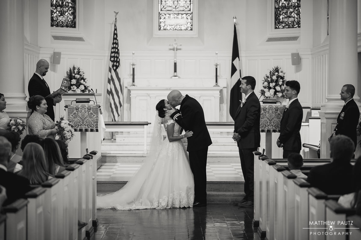 chapel wedding photo