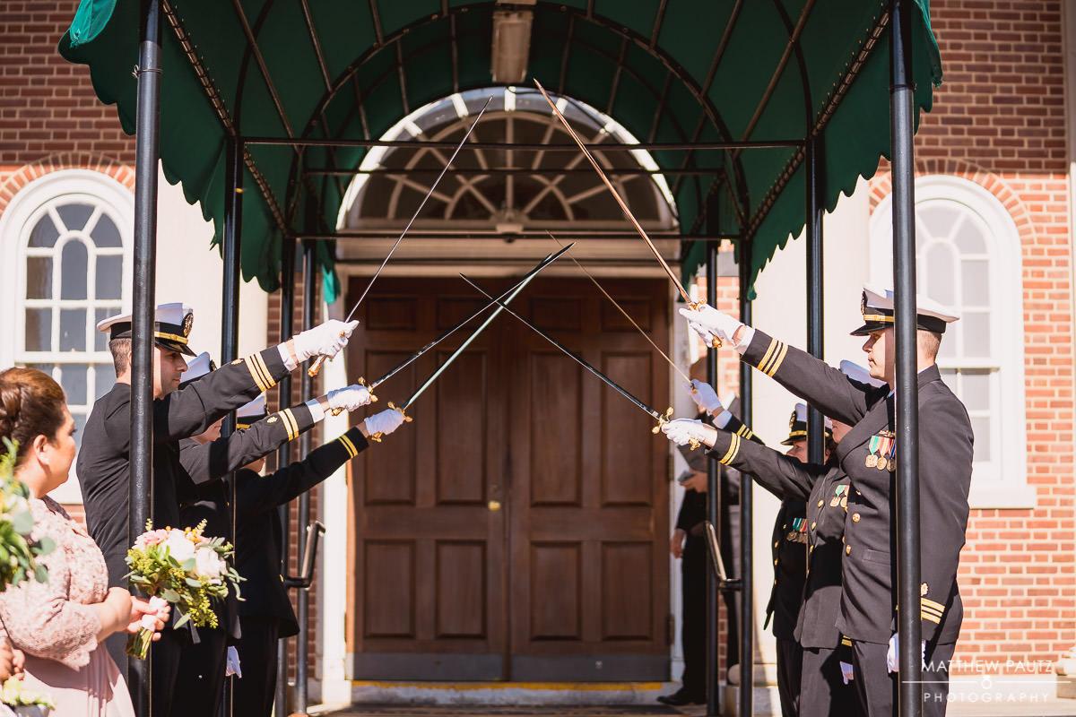 military sword ceremony
