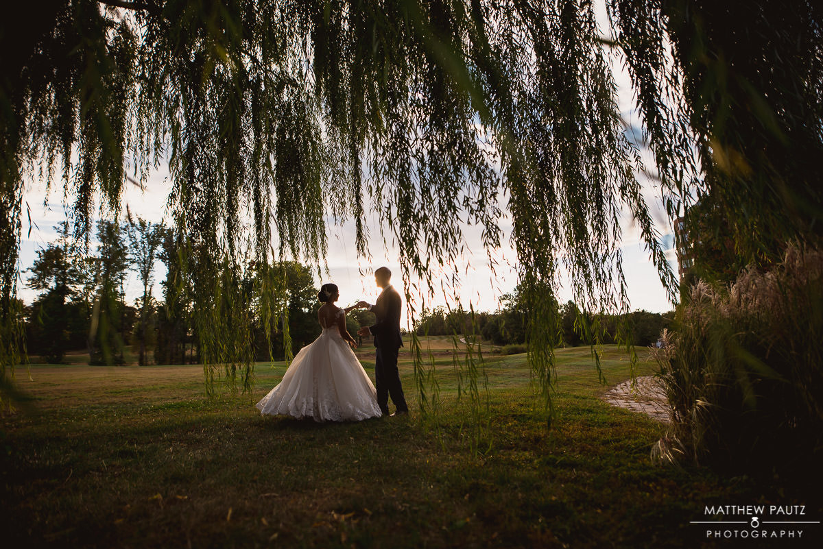 The Ospreys at Belmont Bay wedding photos