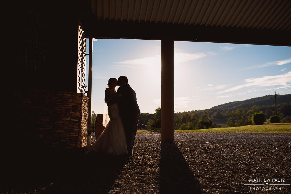 romantic bride and groom couple's photos