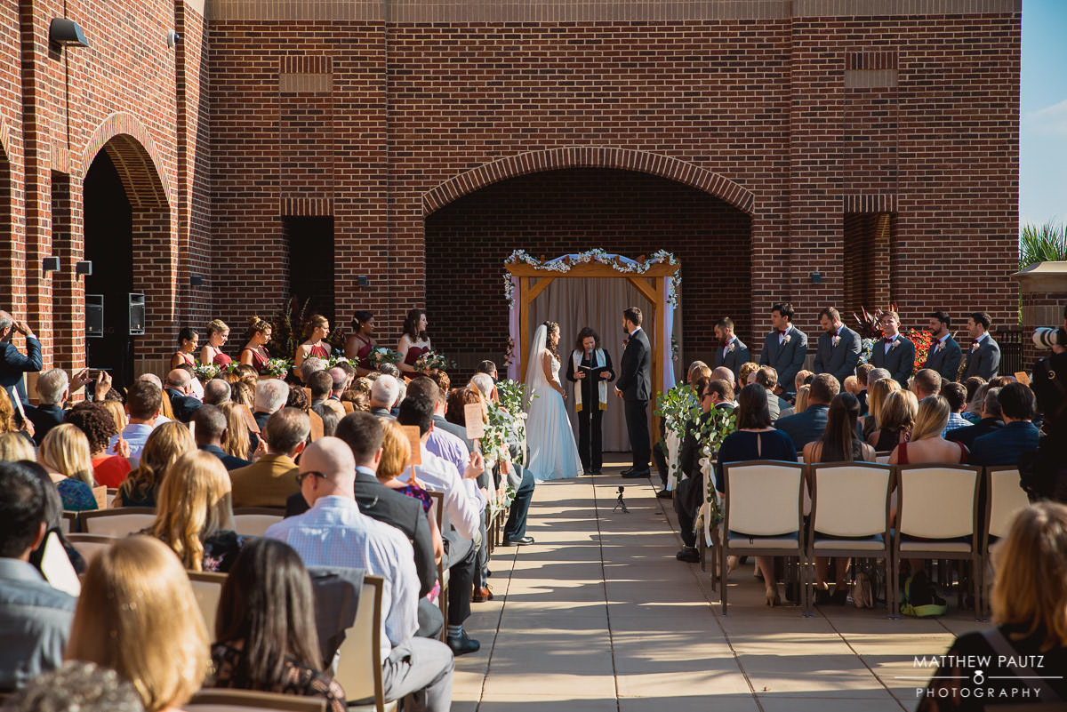 USC Alumni Center Wedding