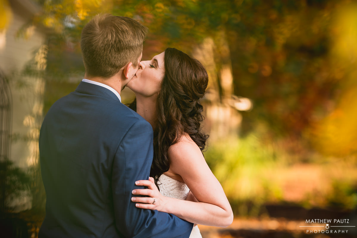 fall wedding photos