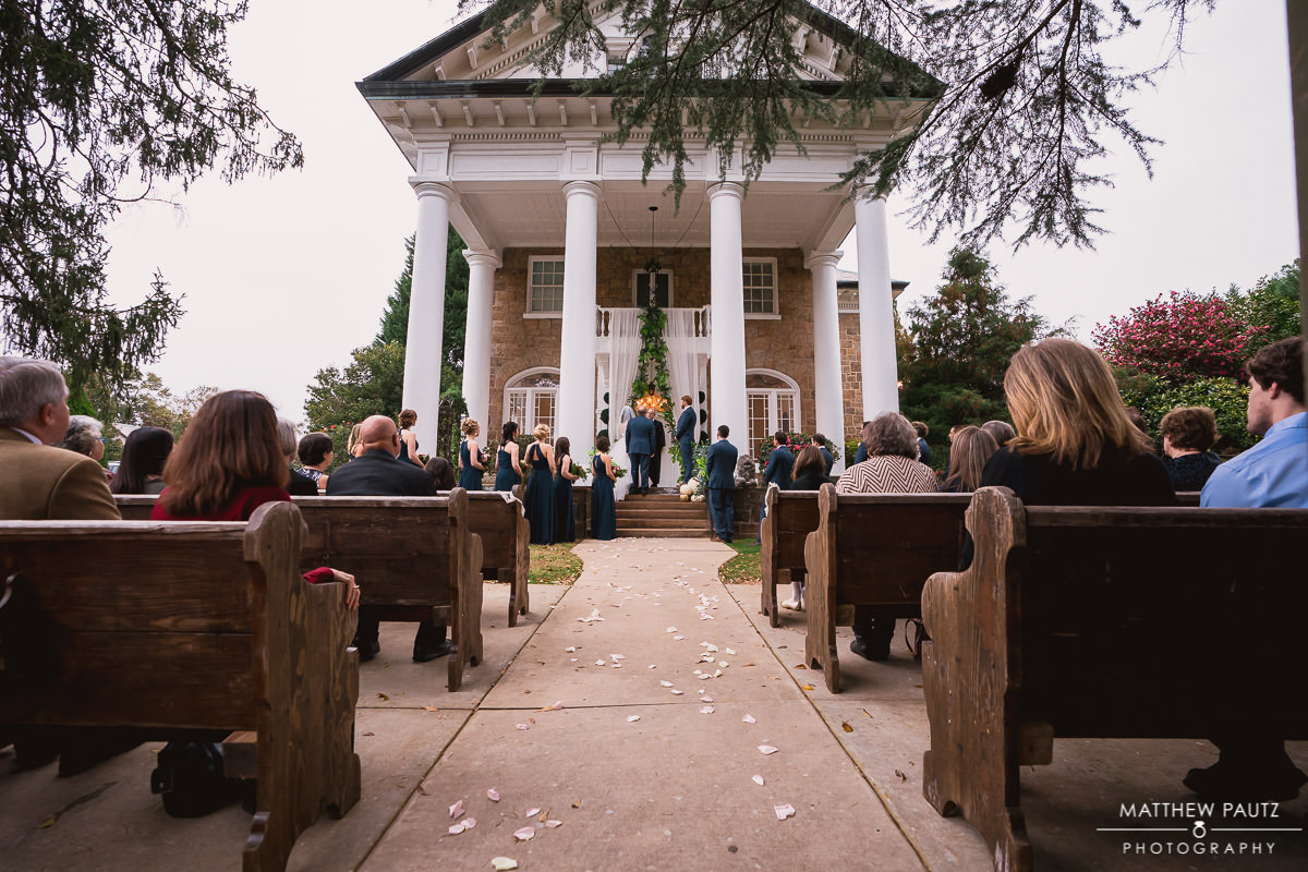 Wedding at The Gassaway Mansion