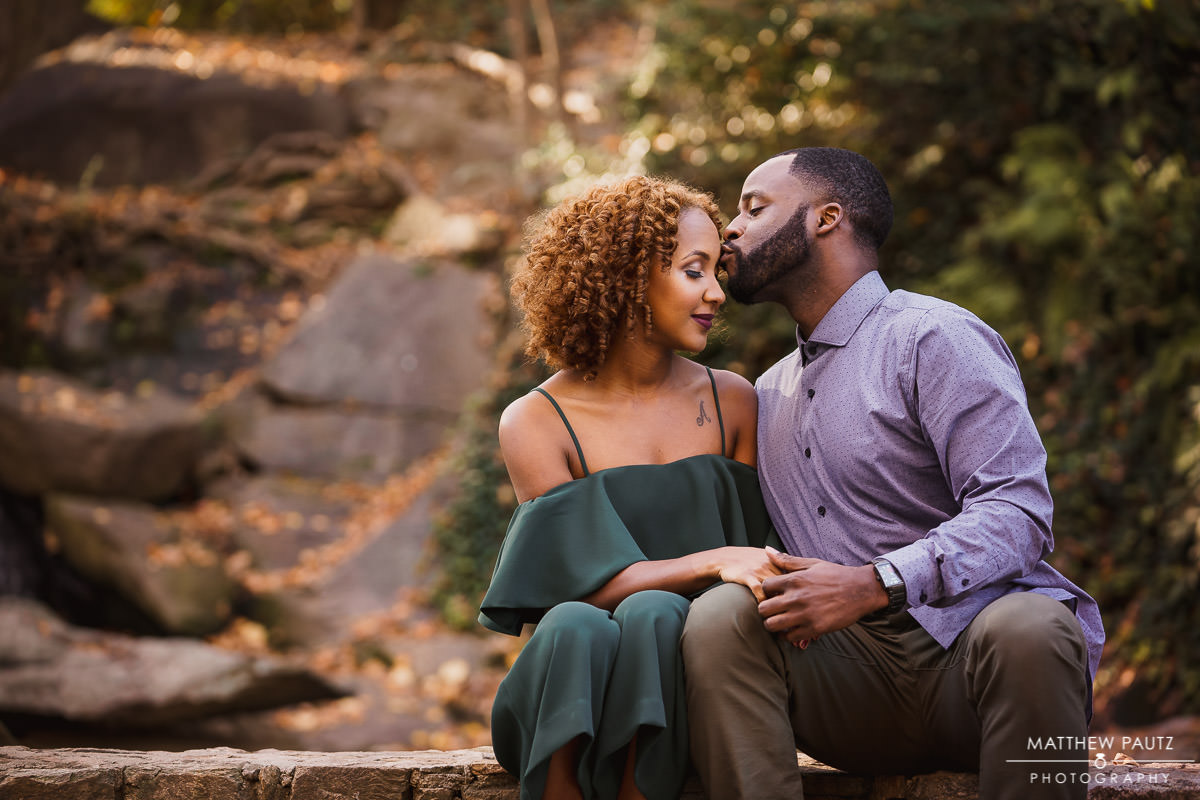 Falls Park and Rock Quarry Garden engagement photos