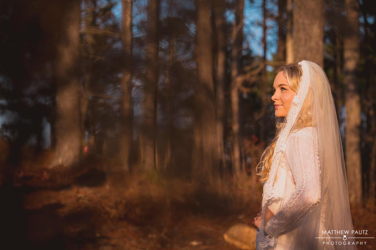 Bridal Photos at the Cliffs at Keowee Falls