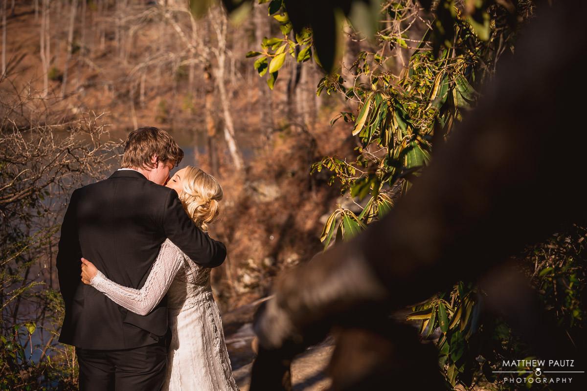 bride and groom before wedding starts