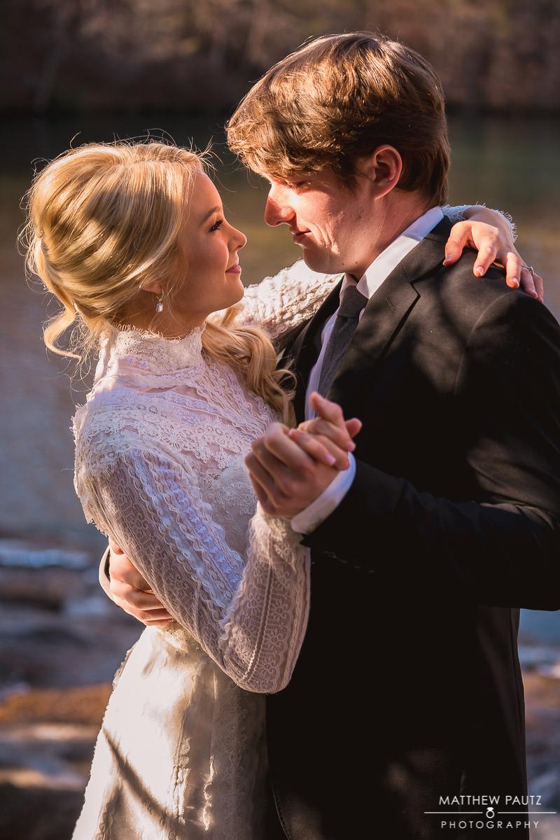 Wedding photos at The Cliffs at Keowee Falls