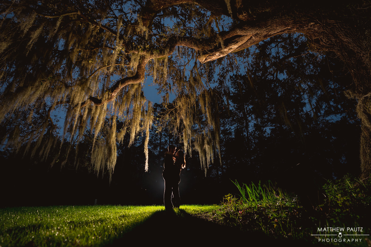 magnolia plantation engagement photos