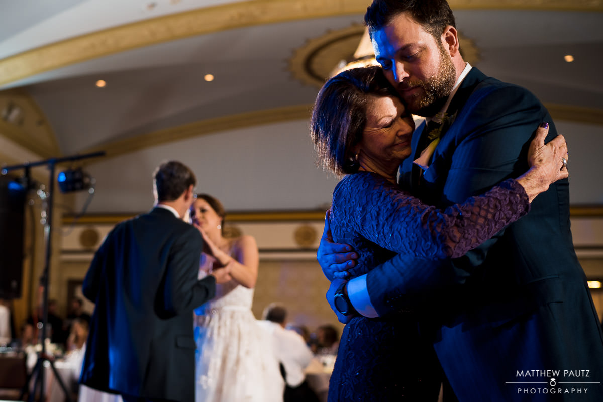 first dances at the Westin Poinsett wedding reception