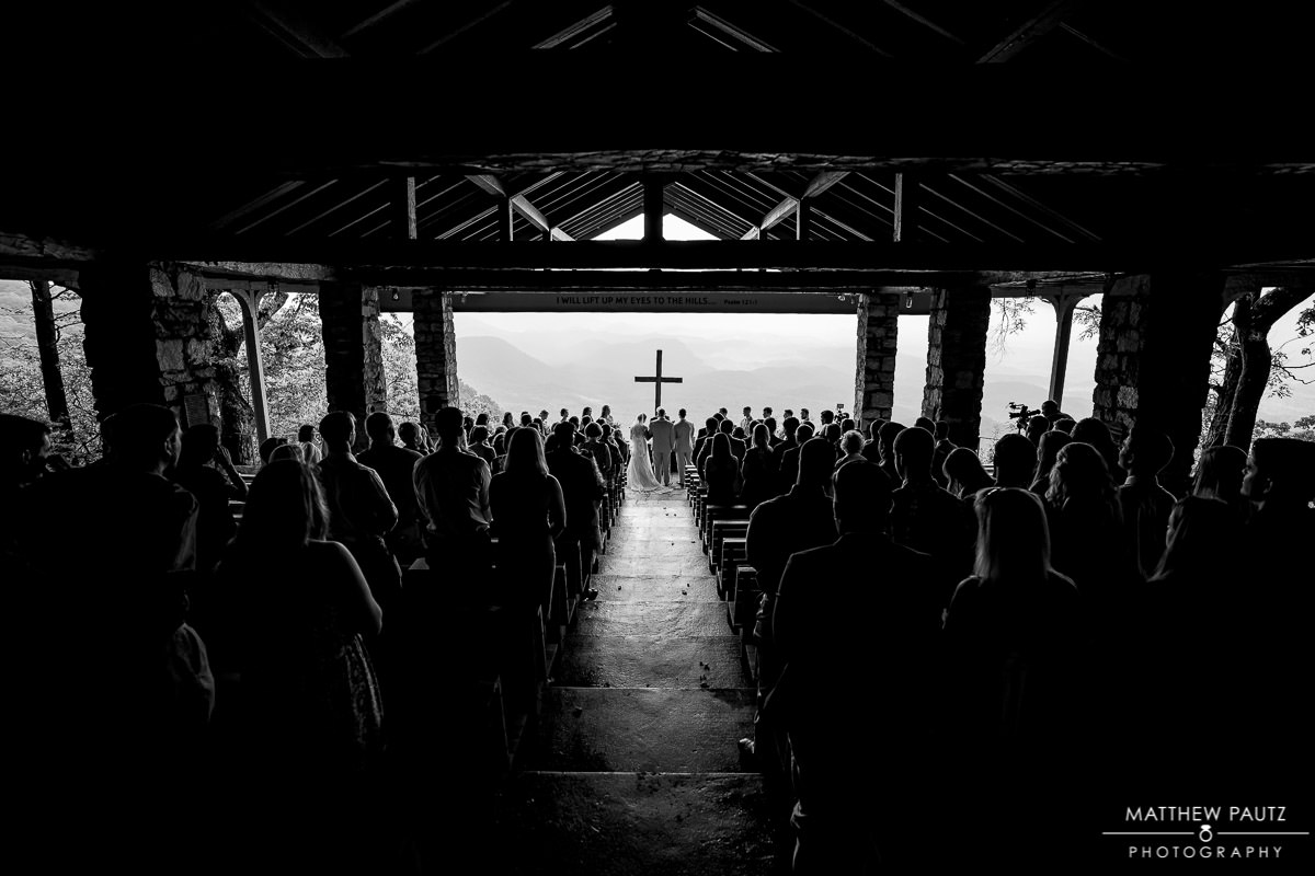 rainy wedding photos at pretty place chapel