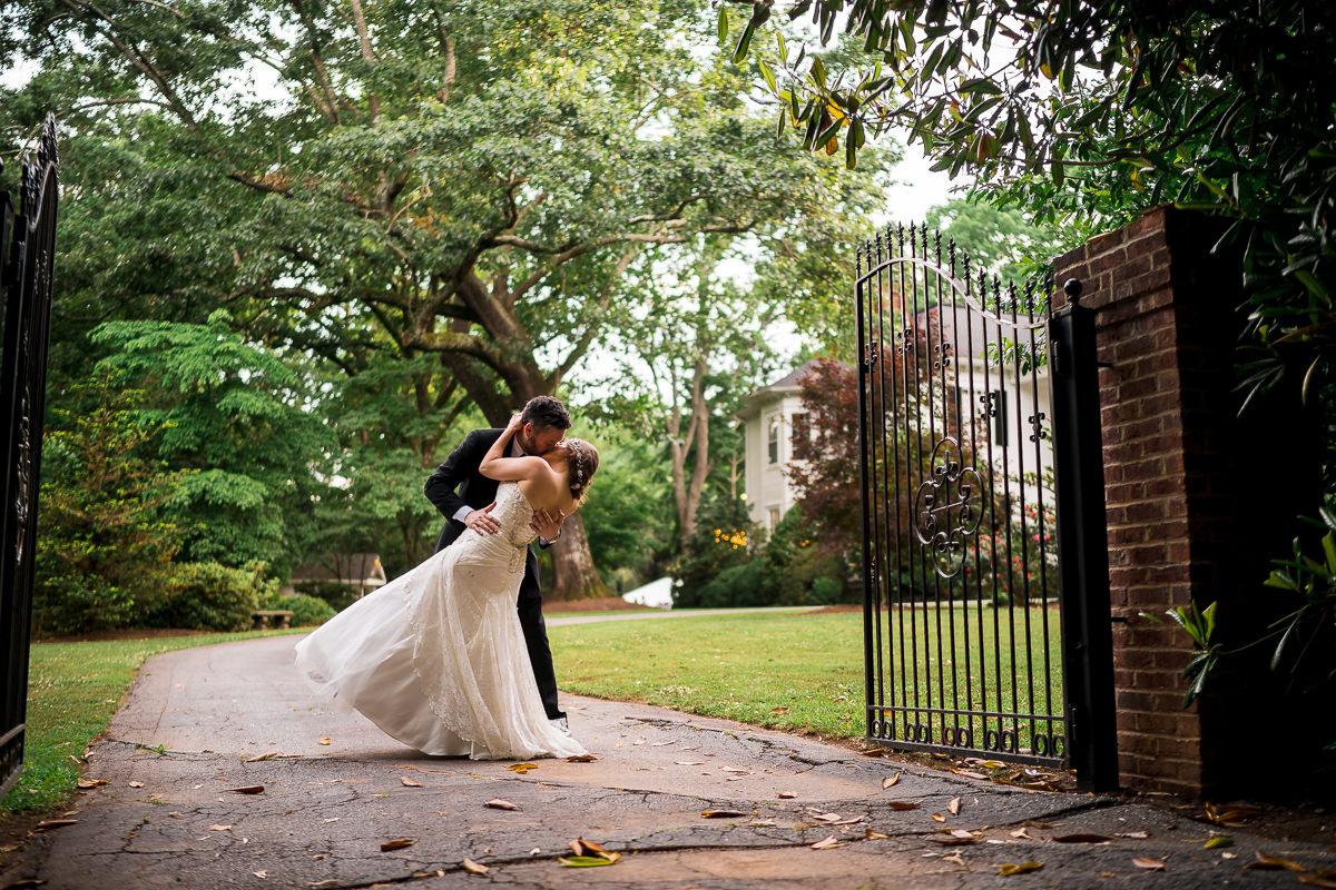 Spartanburg Wedding at The Duncan Estate