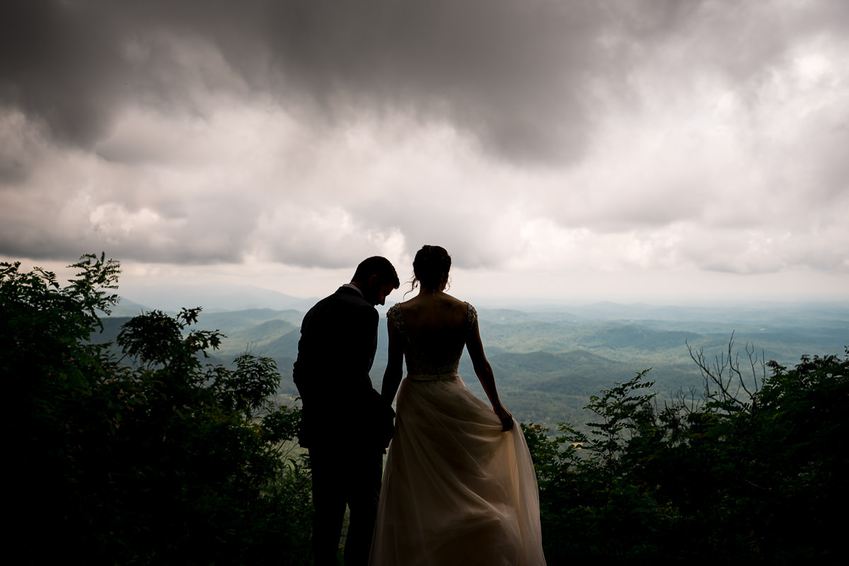 Greenville SC Destination Wedding at Table Rock Lodge
