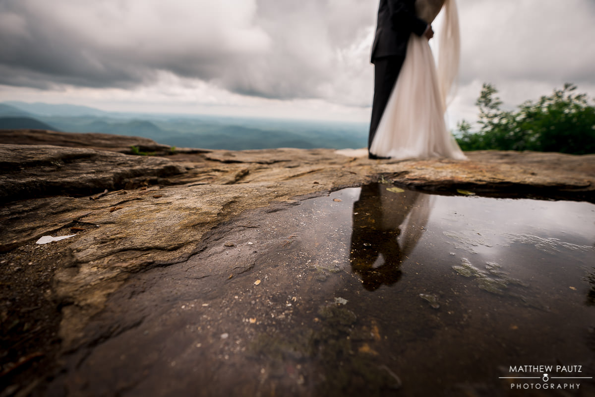Mountain wedding elopement photos in SC
