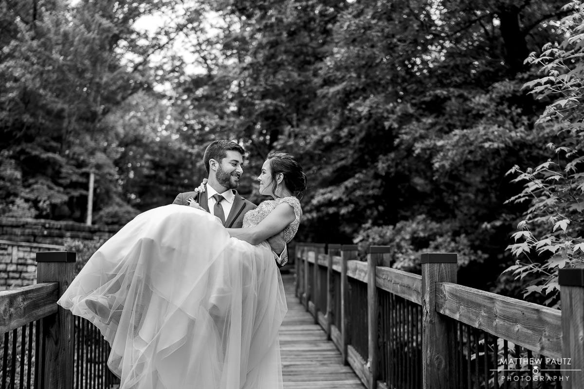 Lodge at table rock wedding photos