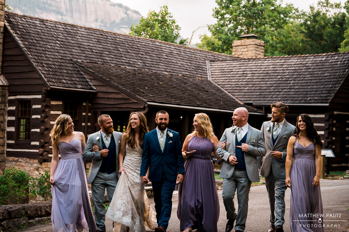 table rock lodge mountain wedding photos