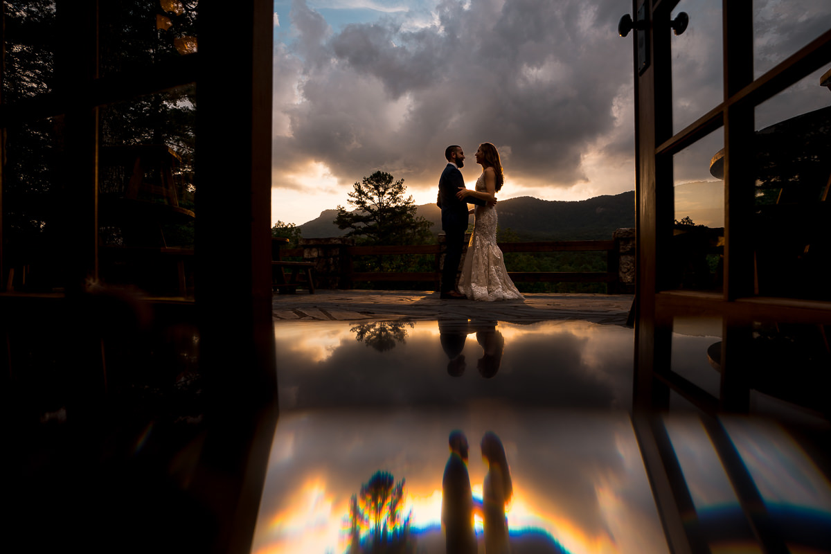 Blue Ridge Mountain Wedding Photos at Table Rock Lodge