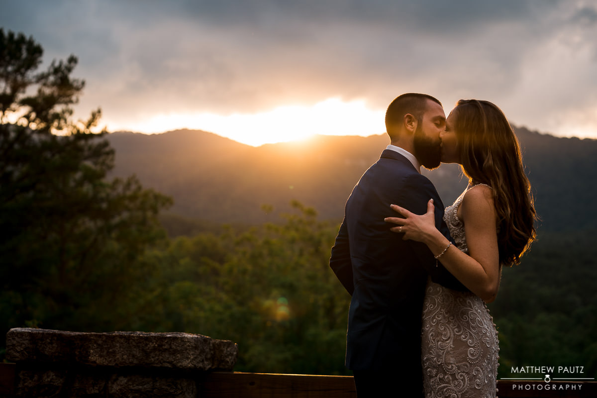 mountain destination wedding in the blue ridge mountains of SC