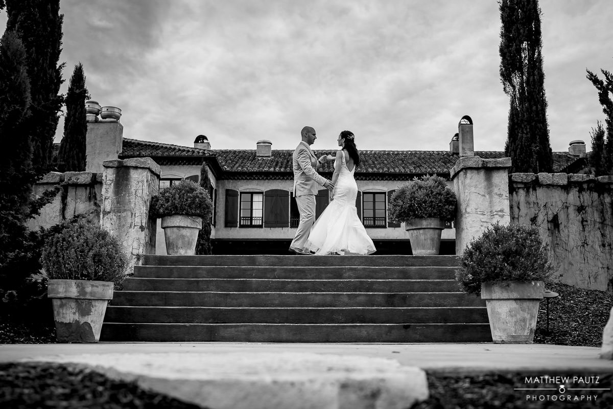 wedding photos at hotel domestique