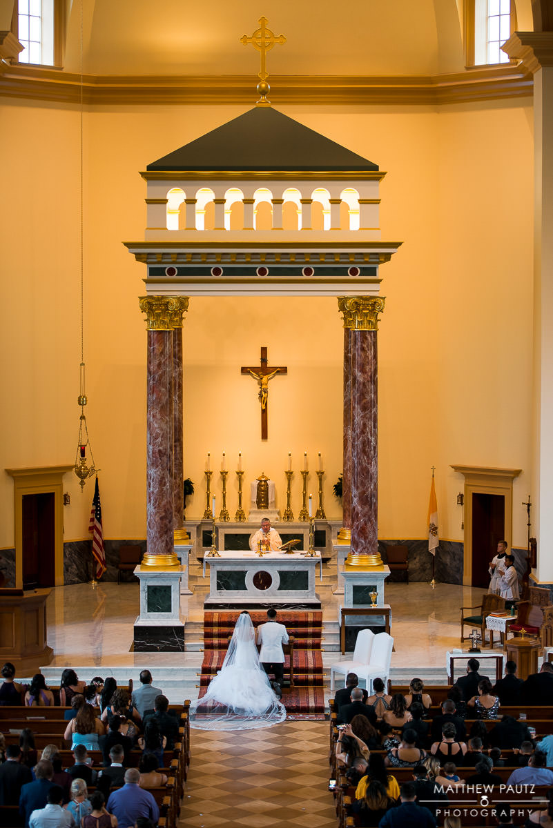 st paul catholic church wedding
