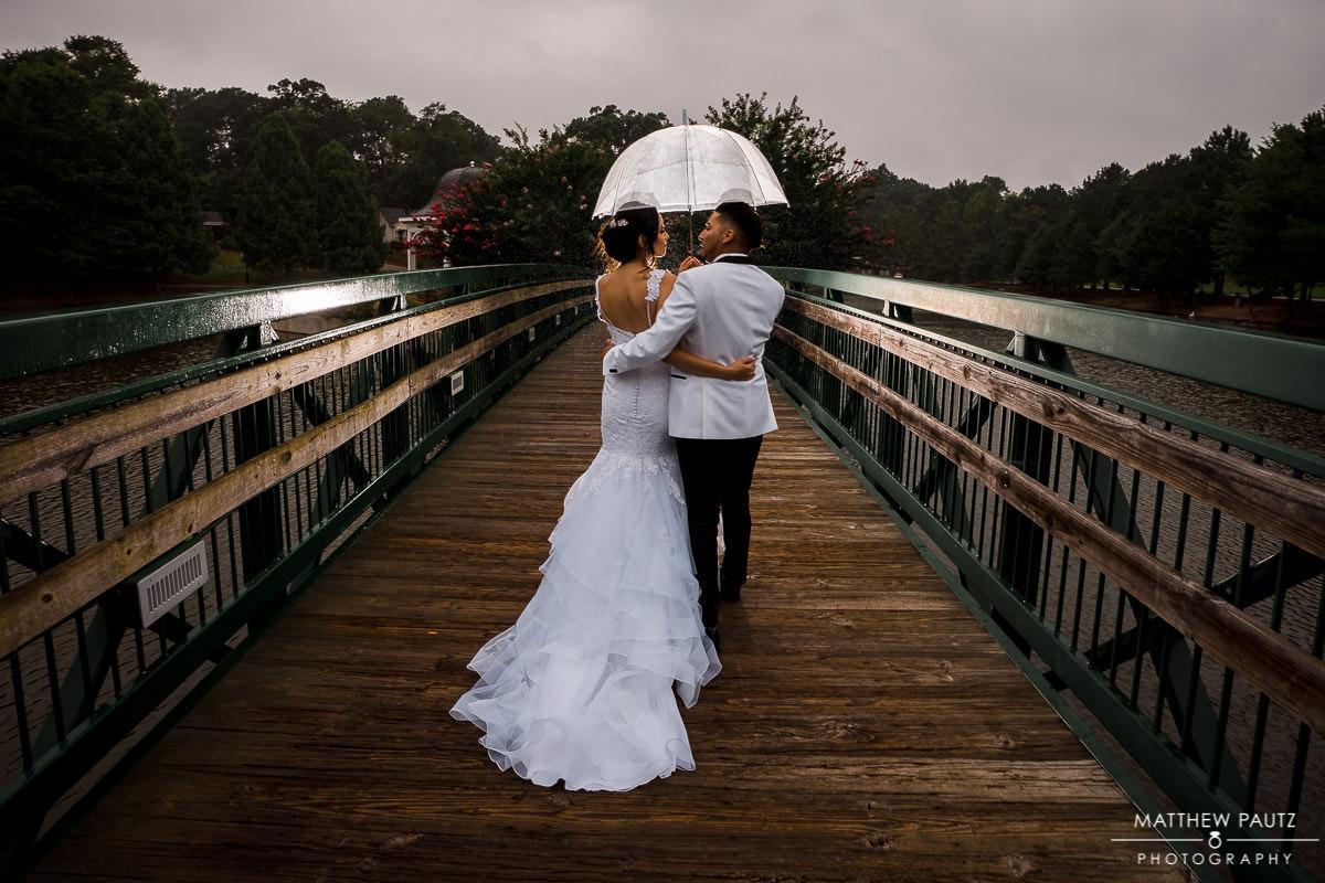 Cleveland Park wedding photos in Spartanburg SC