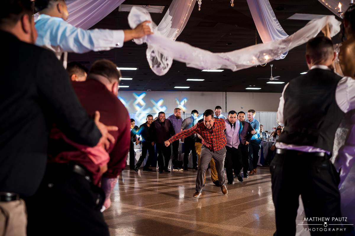 shrine club reception dancing photos