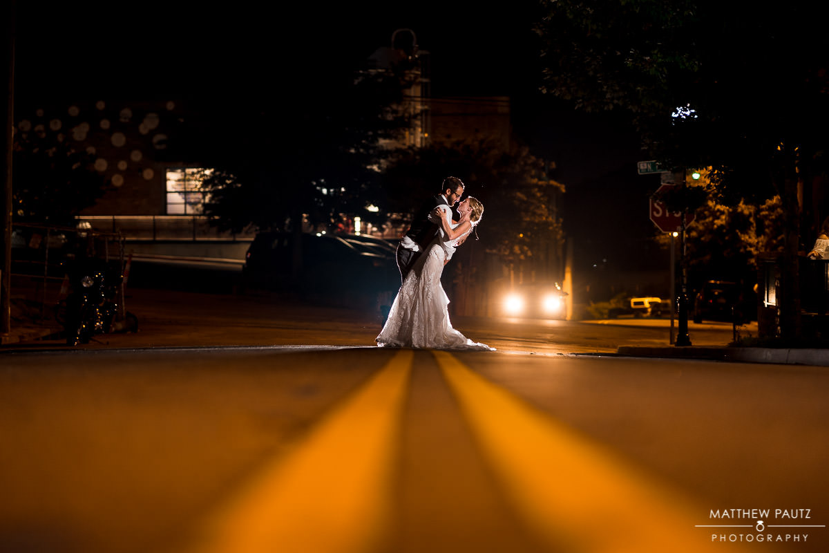 night wedding photos in spartanburg sc