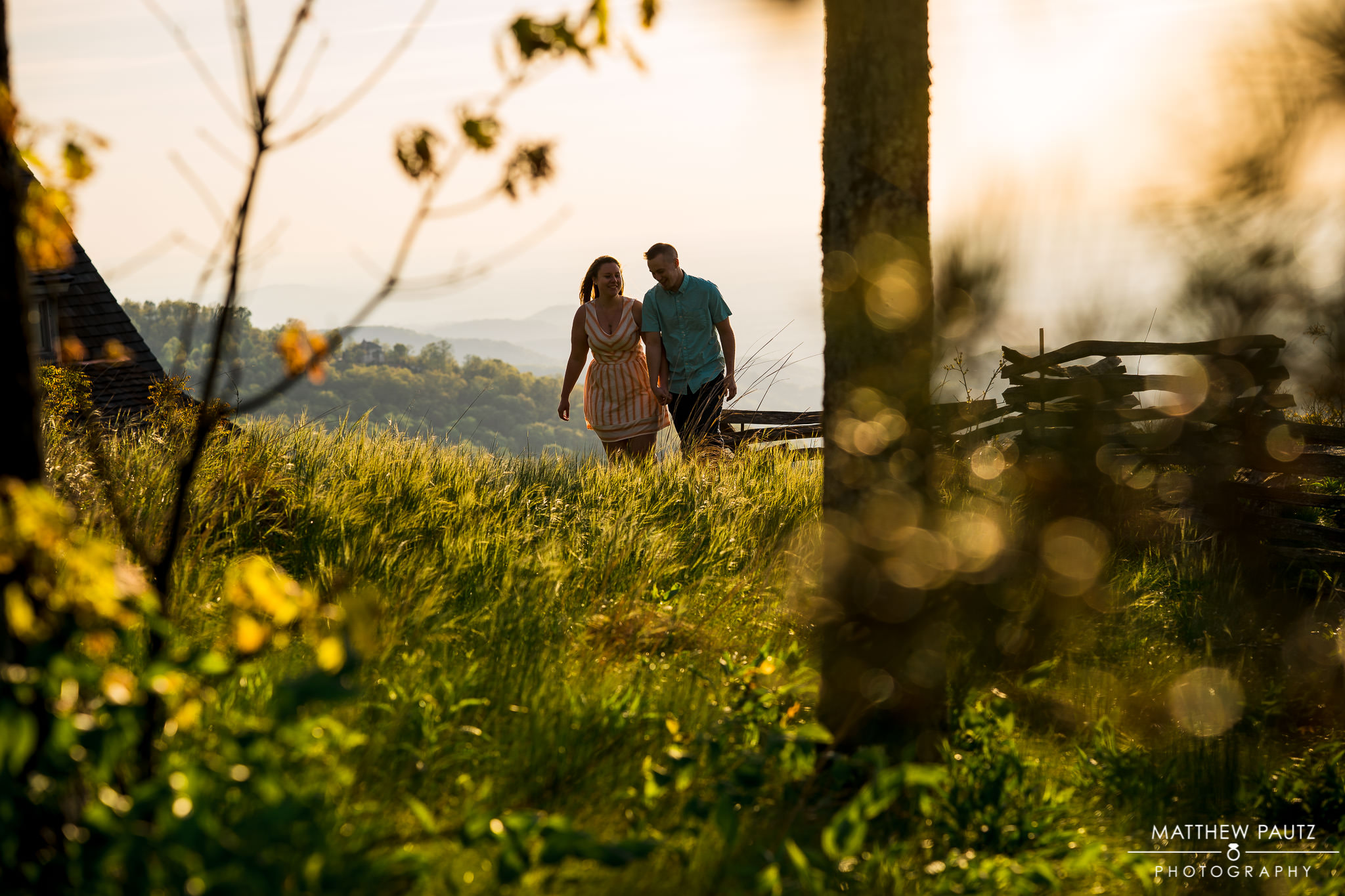 sunrise engagement session in SC