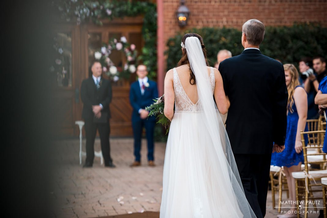 bleckley inn wedding ceremony