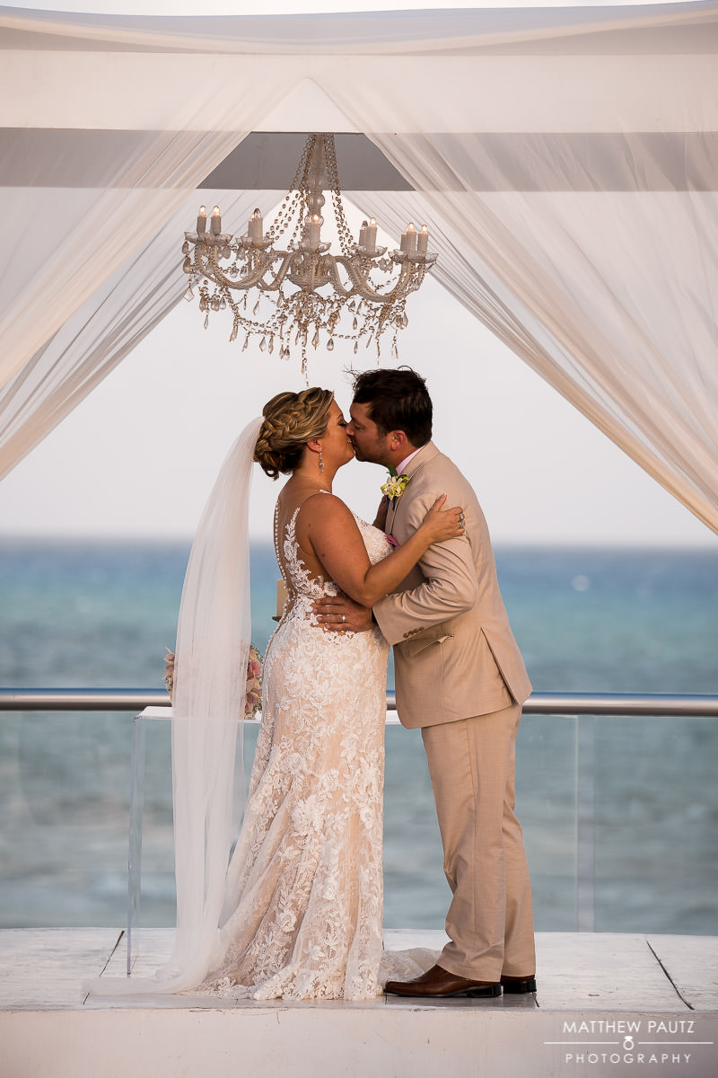 playa del carmen destination wedding photos