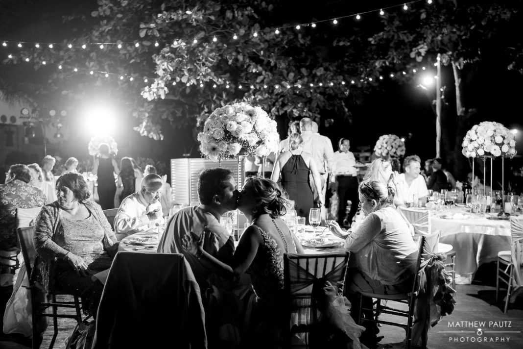 playa del carmen destination wedding reception at azul the fives resort