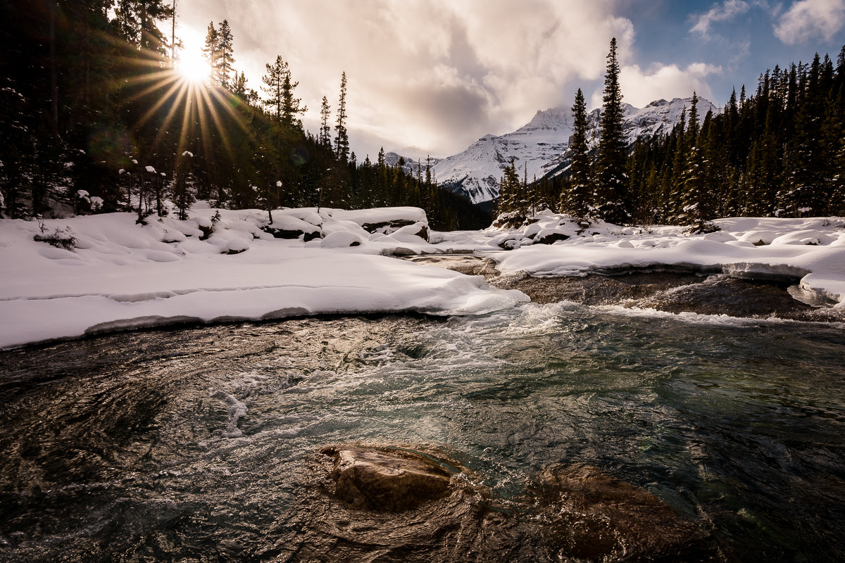 Banff National Park winter photo