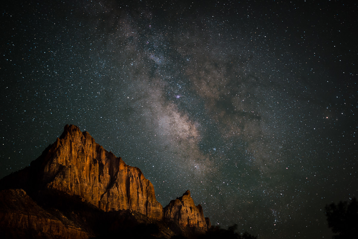 Zion national park astrophotography