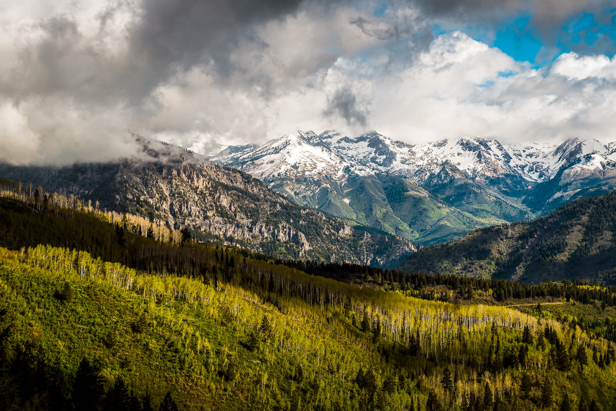 Mount Timpanogos landscape photography