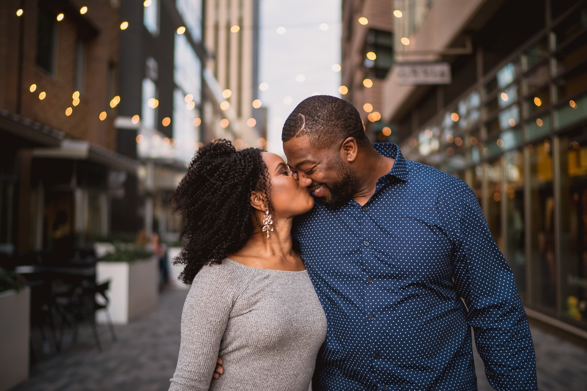 Downtown Greenville SC Engagement Pictures