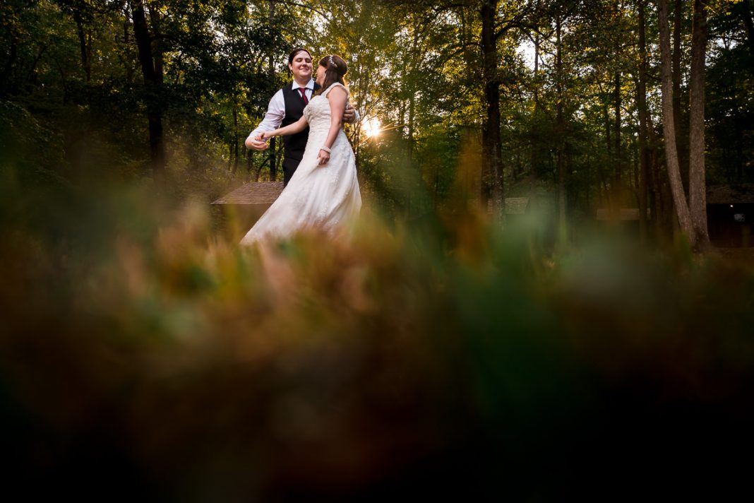 Paris Mountain State Park Wedding Photo