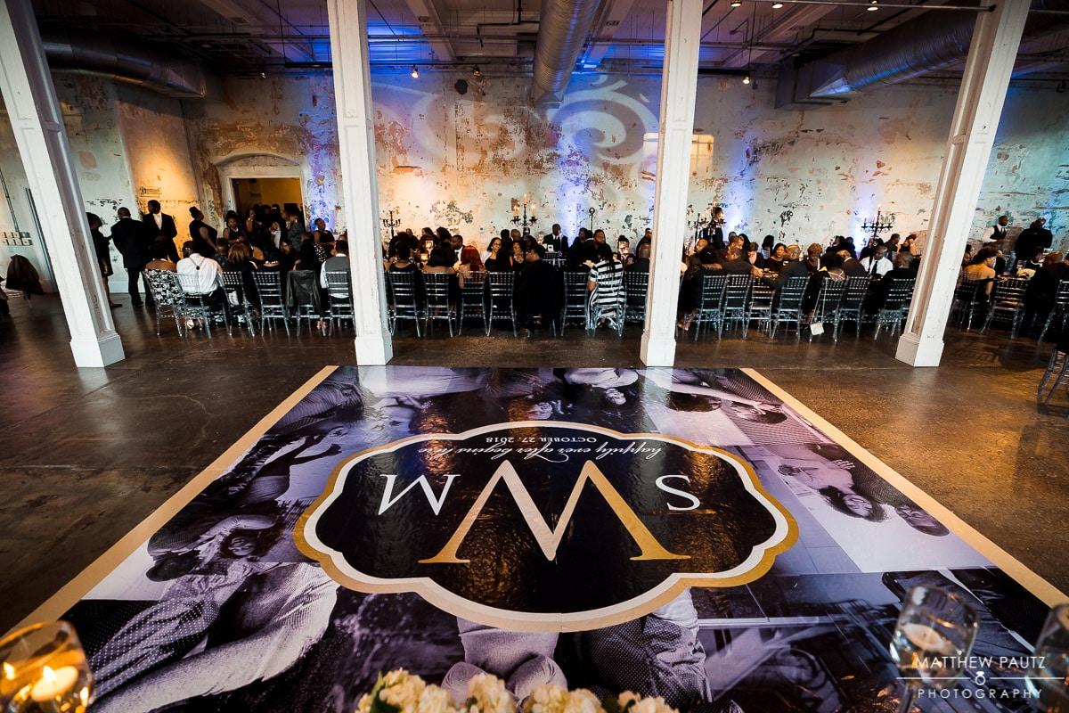 Wedding reception at 701 Whaley