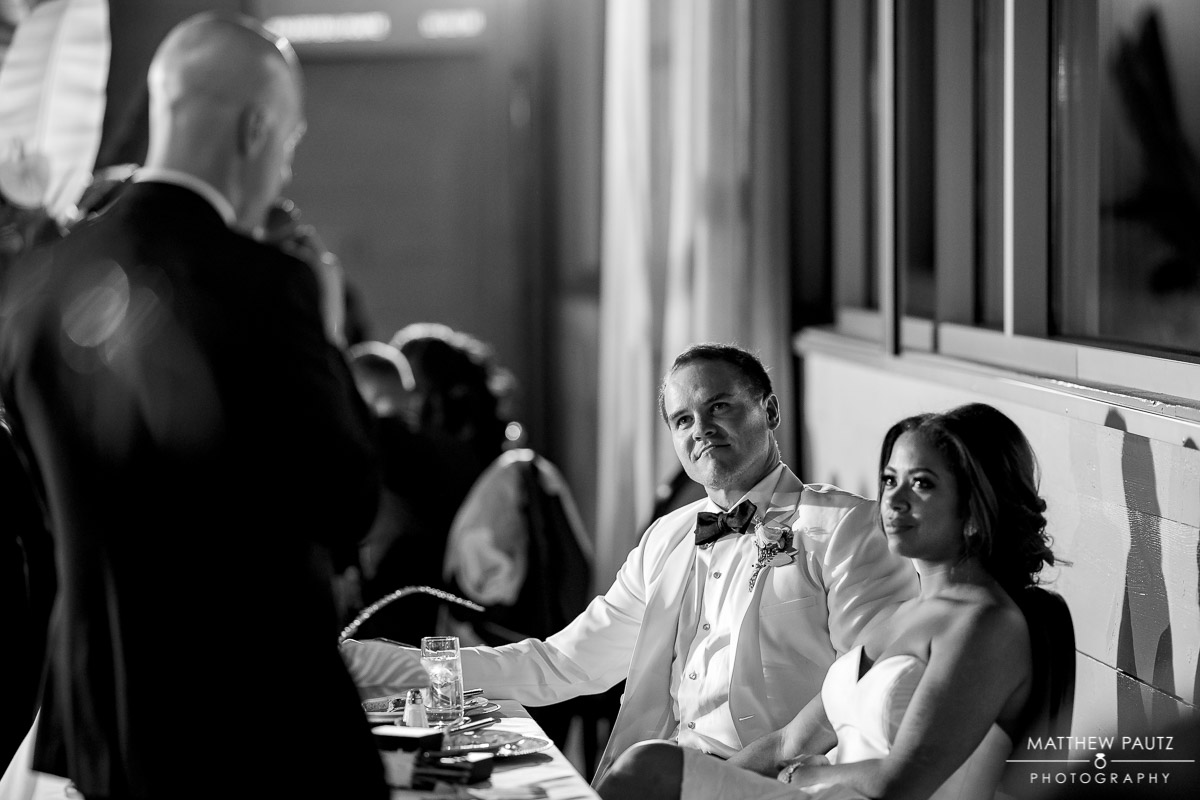 Avenue wedding reception photography
