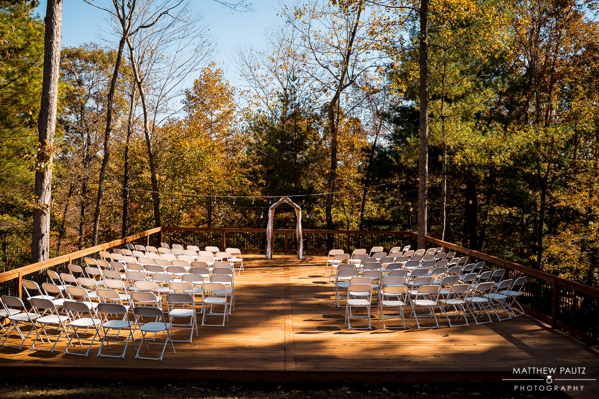 Charlyn Farms wedding ceremony