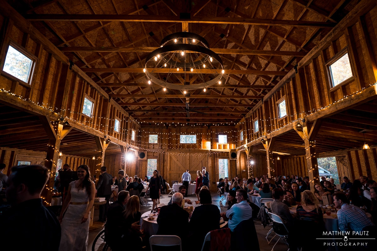 Wedding and reception at Charlyn Farms