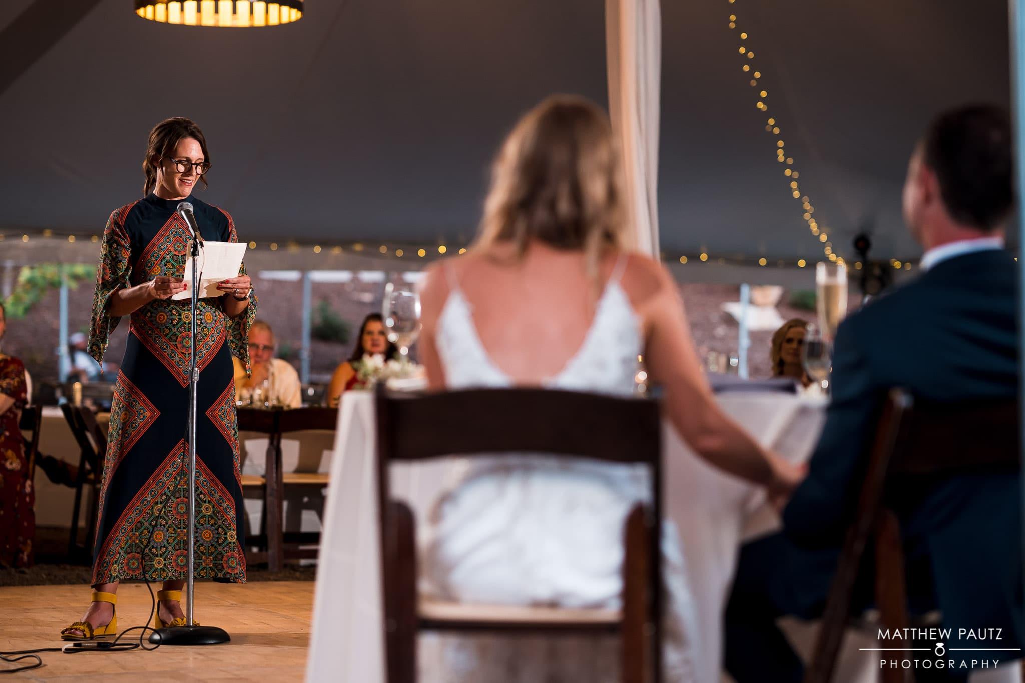 Junebug retro resort wedding reception