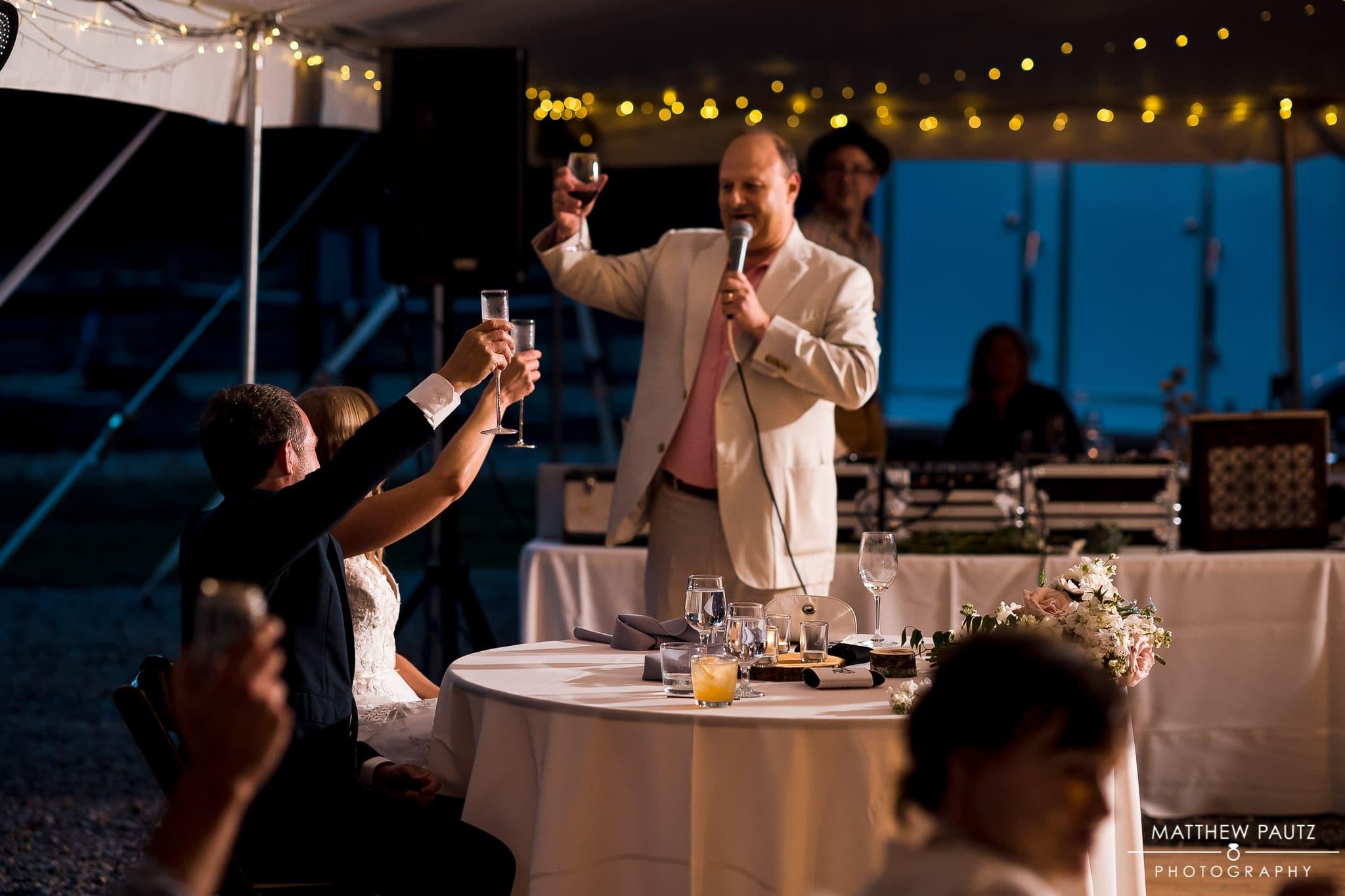 wedding reception photos at Junebug retro in Asheville