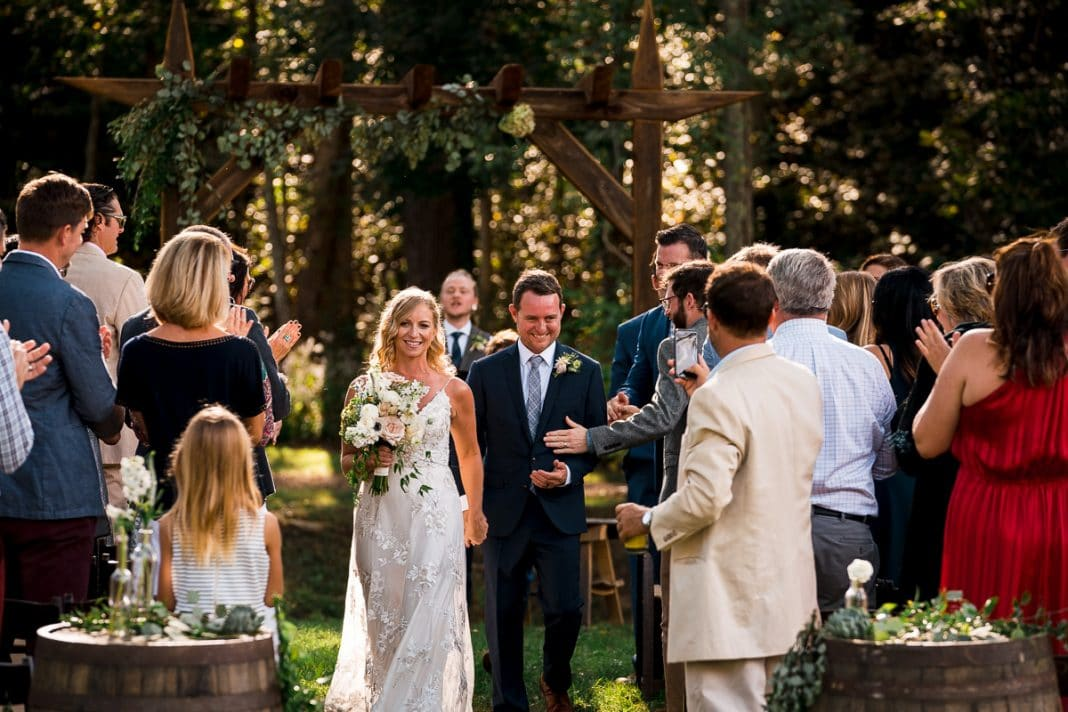 Asheville NC Wedding Photographer at Junebug Retro Resort