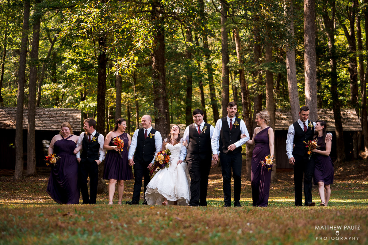 Camp Buckhorn wedding photos