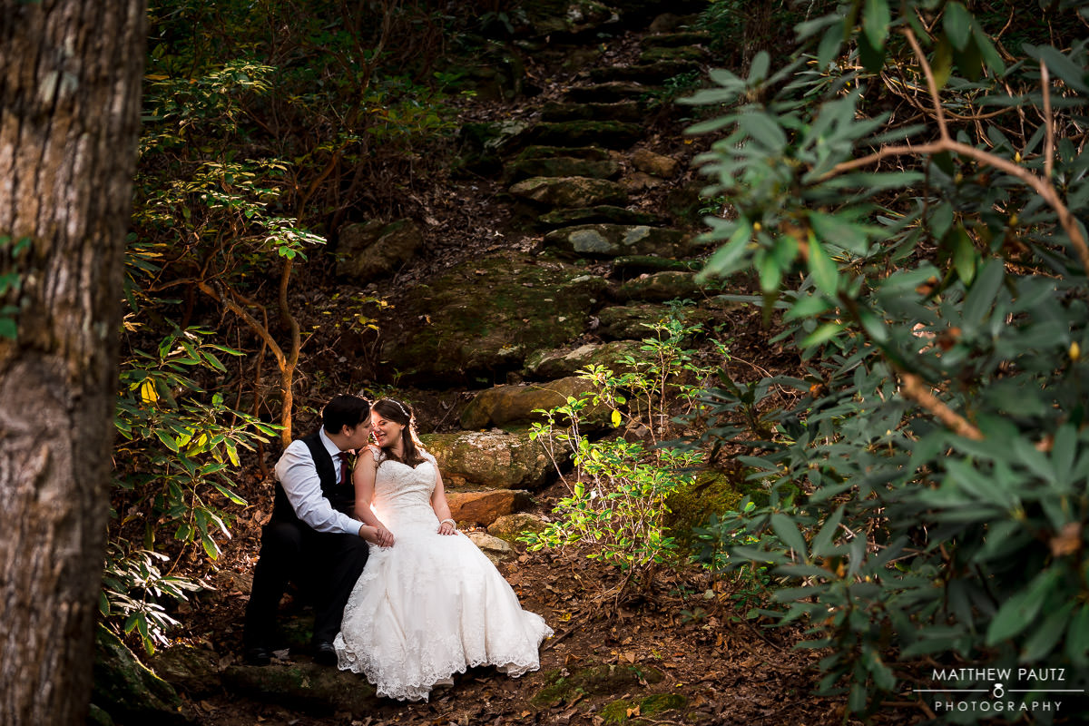 Paris Mountain Wedding Photo