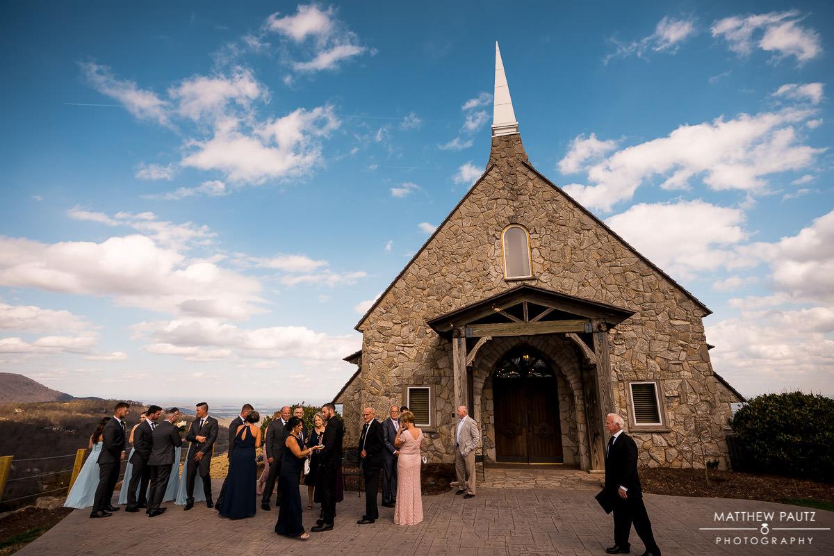 The Cliffs at Glassy Chapel Wedding