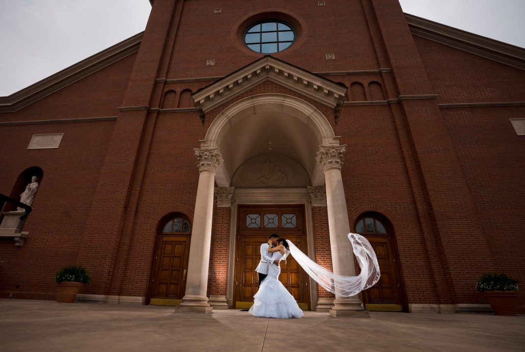 church wedding photos in Spartanburg