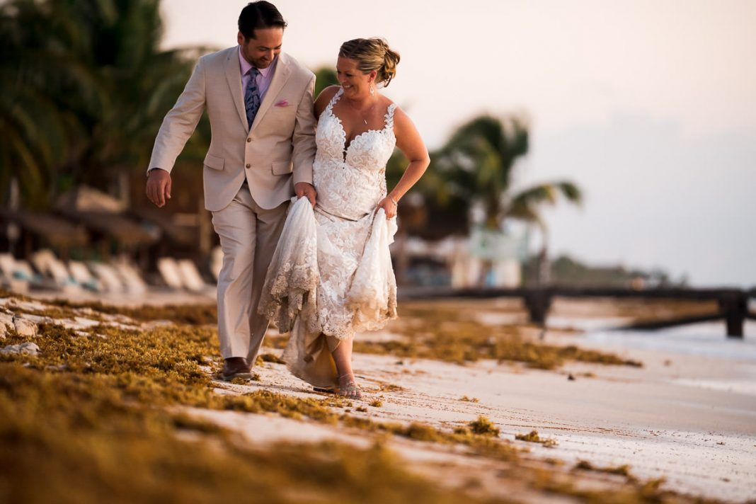 destination wedding pictures in mexico