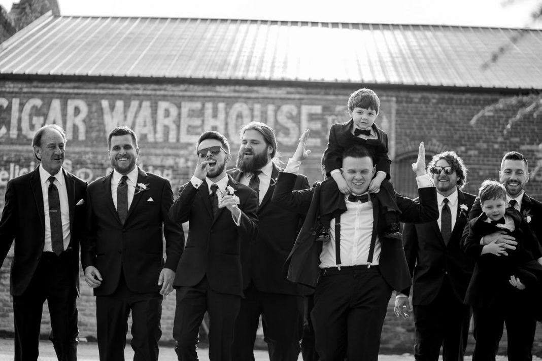 Old Cigar Warehouse wedding photos